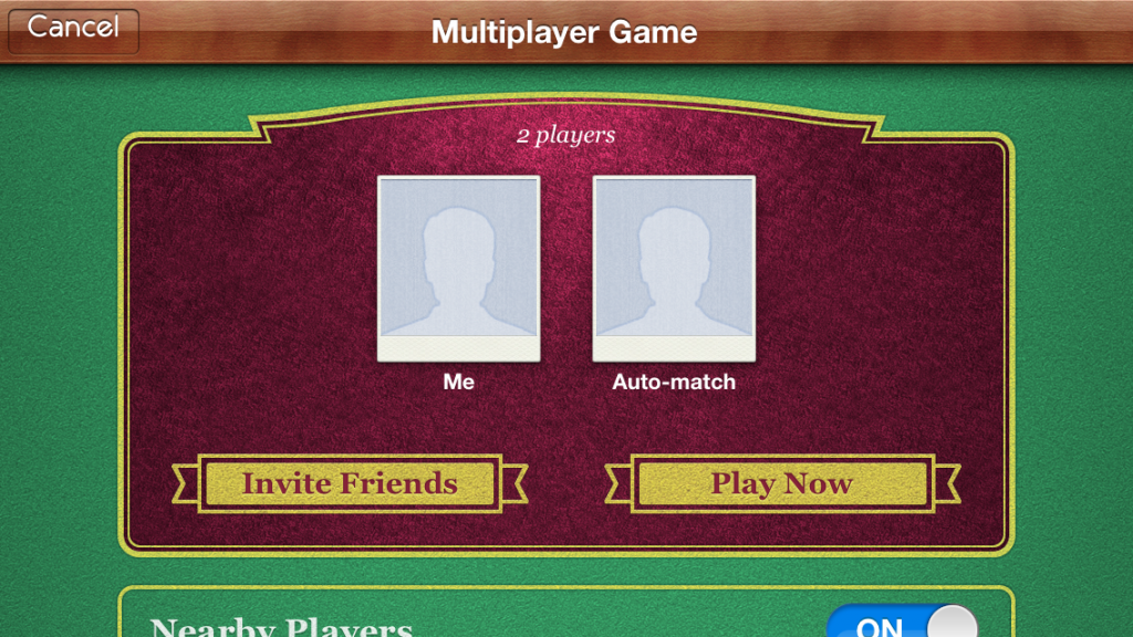 Game Center Real-Time Matchmaking
